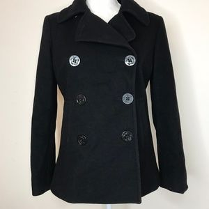J. Crew Peacoat Black Size Small